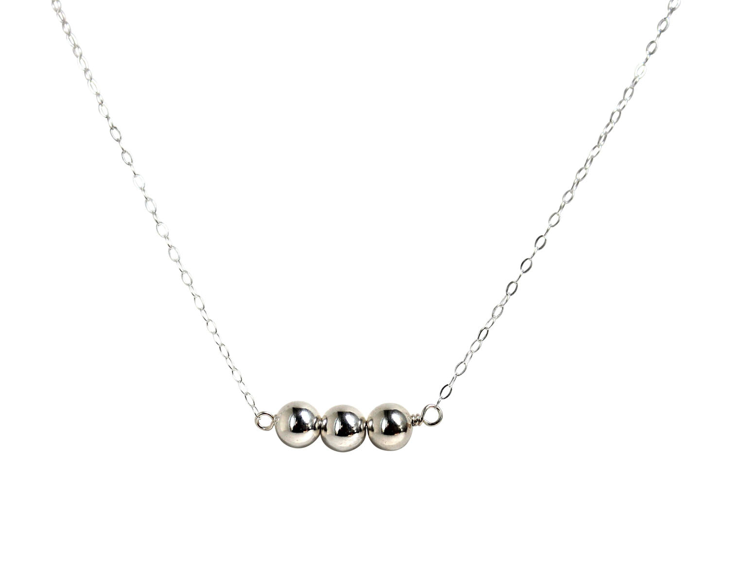 Ask Believe Receive Sterling Silver Necklace