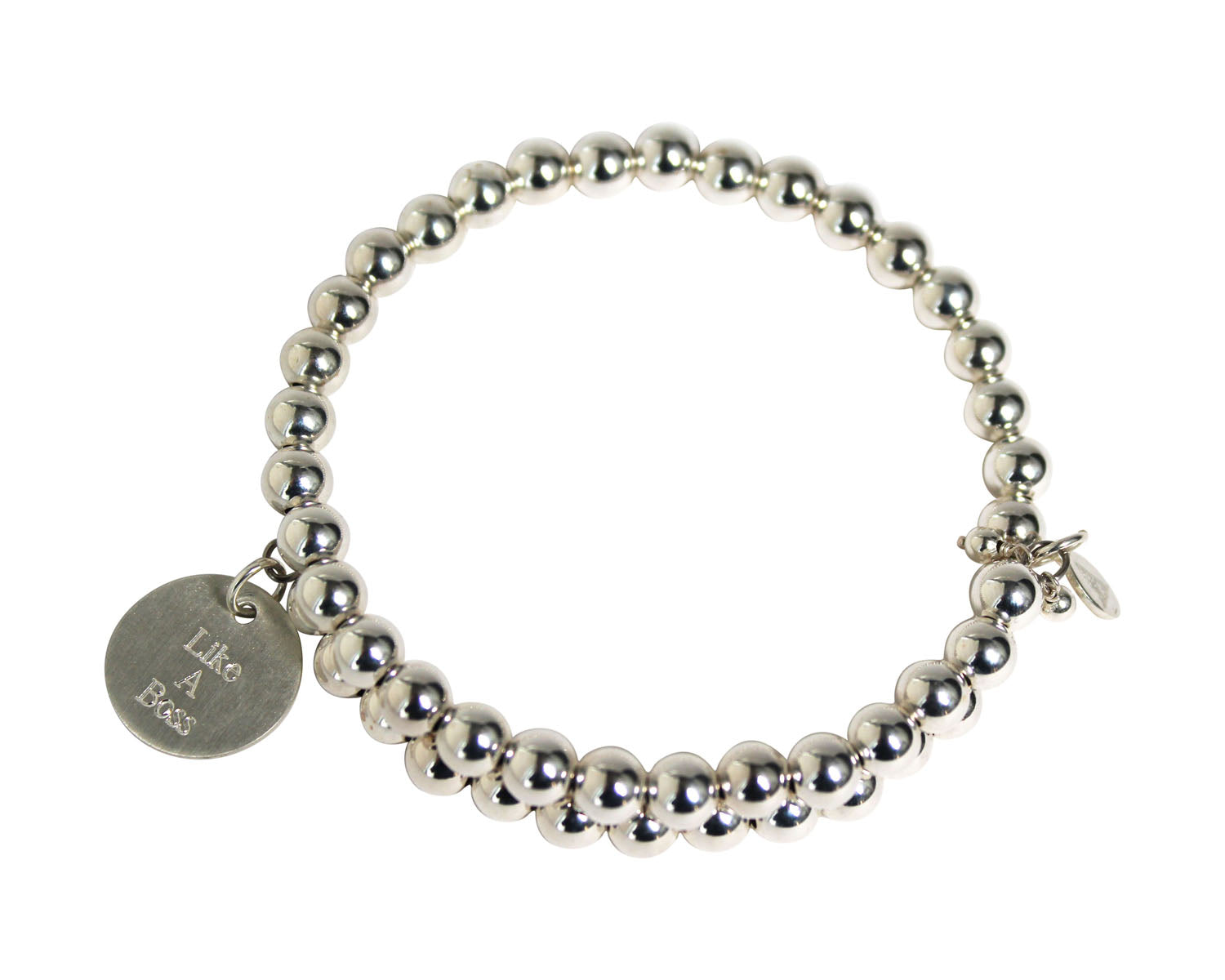 Secret Intention Sterling Silver Bracelet ~ Single