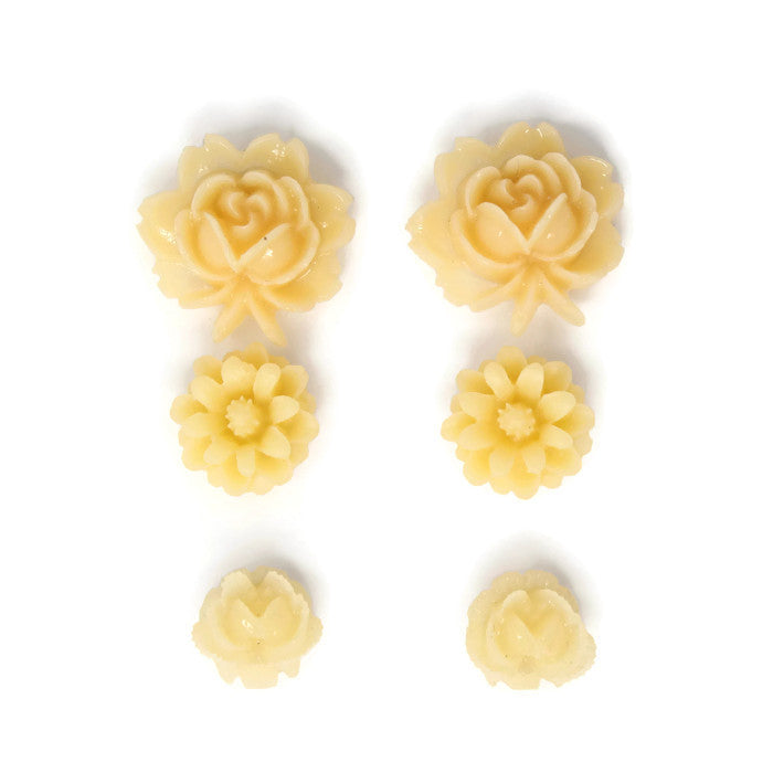 Bloom Stud Set ~ Candlelight Flowers