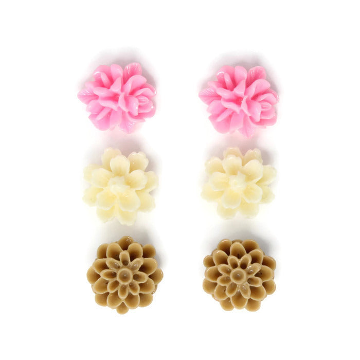 Bloom Stud Set ~ Neapolitan