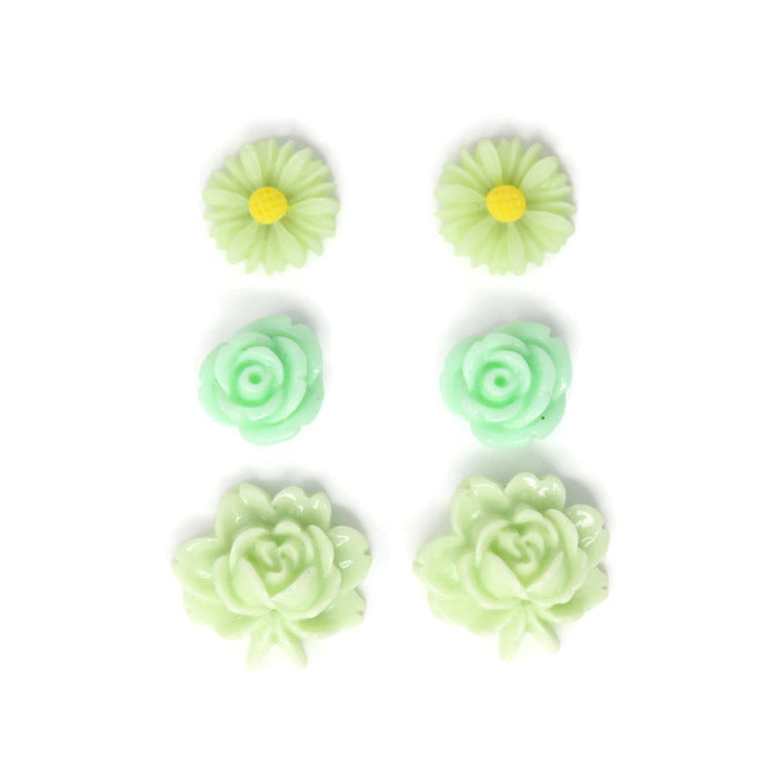 Bloom Stud Set ~ Pistachio Pudding