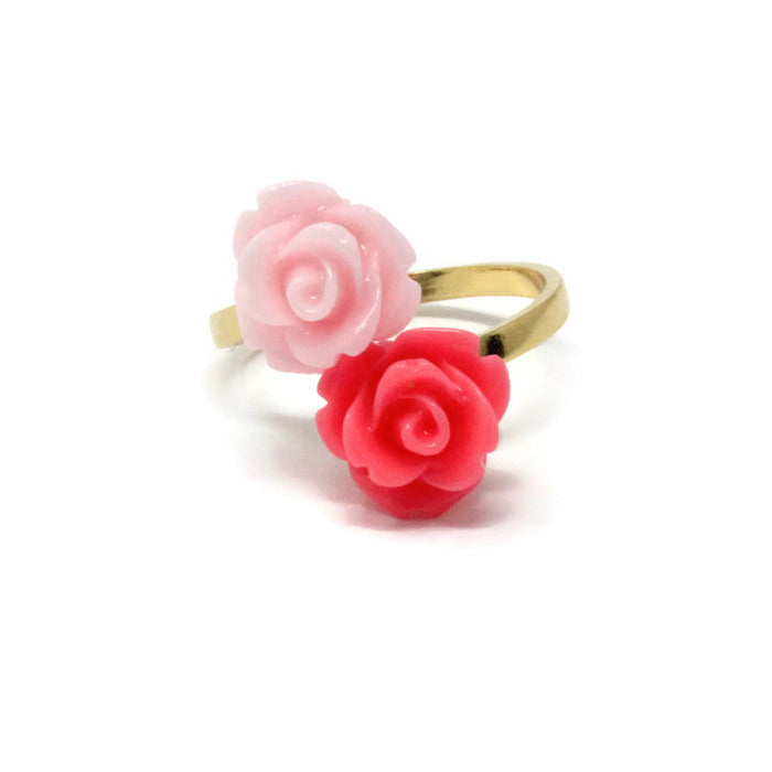 Blooming Ring ~ Pink Rose