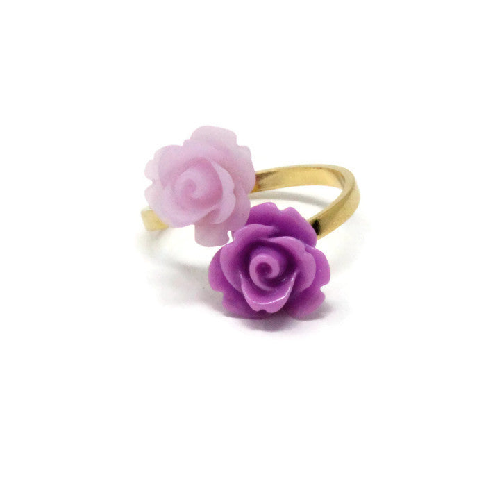 Blooming Ring ~ Lilac Posy