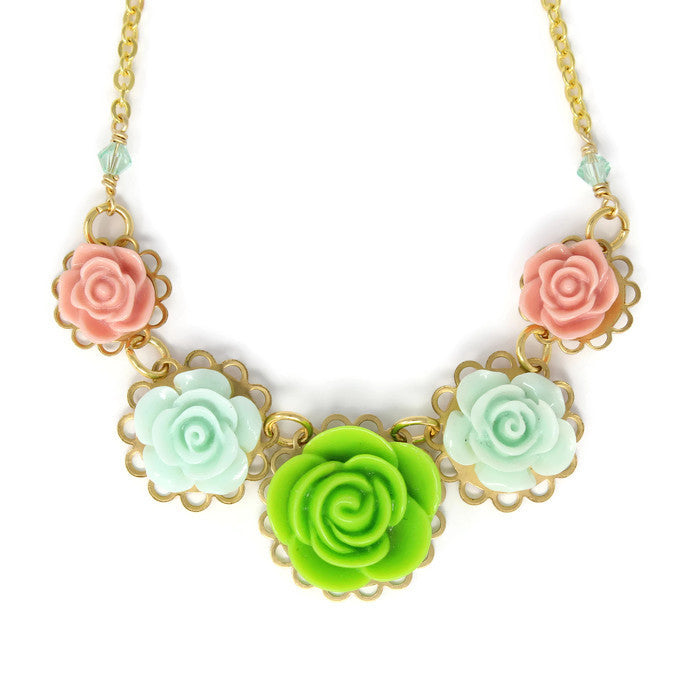 "Necklace Bouquet 20"" ~ First Grass"