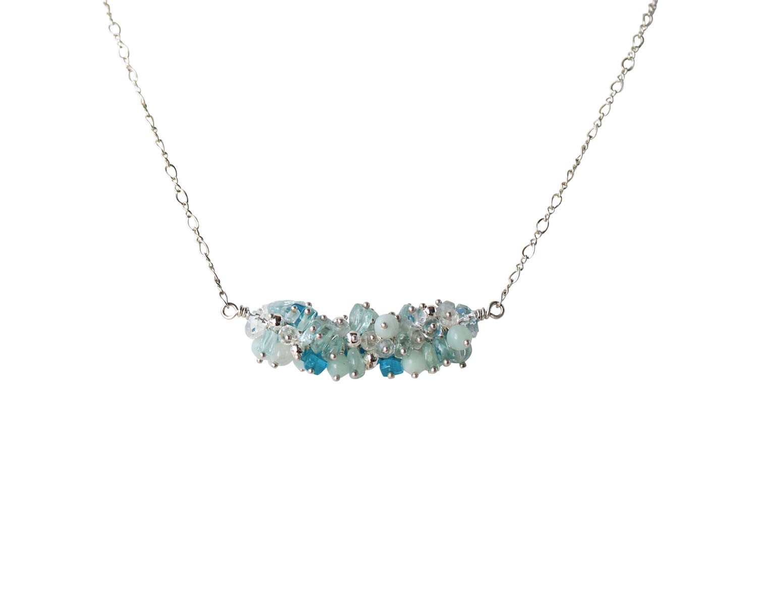 Cluster Bliss Necklace