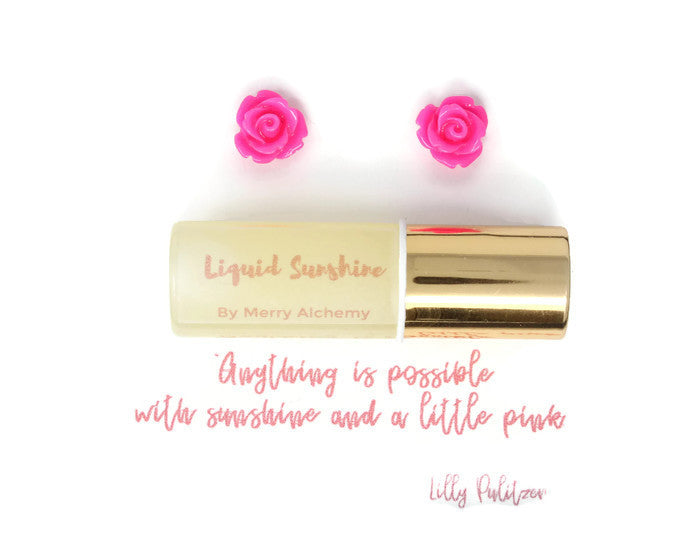 Essential Oil Jewelry Gift Set ~ LIQUID SUNSHINE