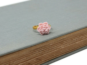 Succulent Ring in Pink
