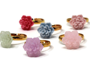 Succulent Ring - choose your color