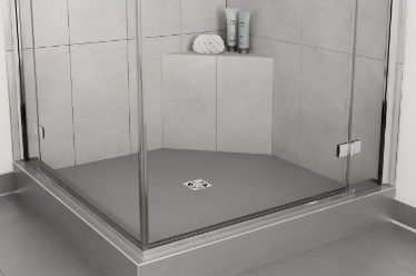 "KERDI-SHOWER-SB BANC 16"" X 16"" TRIANGULAIRE"
