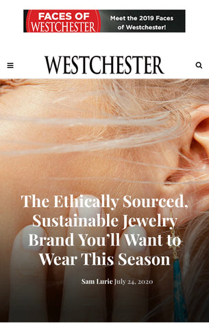 Ethically Sustainable Jewelry Elizabeth Moore July 2020