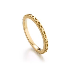 Infinity Gold Band