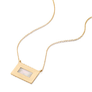 Mother of Pearl Infinity Pendant