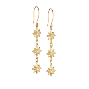 Celestial 3 Star Dangle