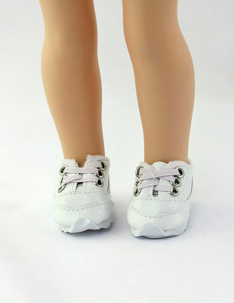 14.5 INCH DOLL Sporty No Tie Sneakers