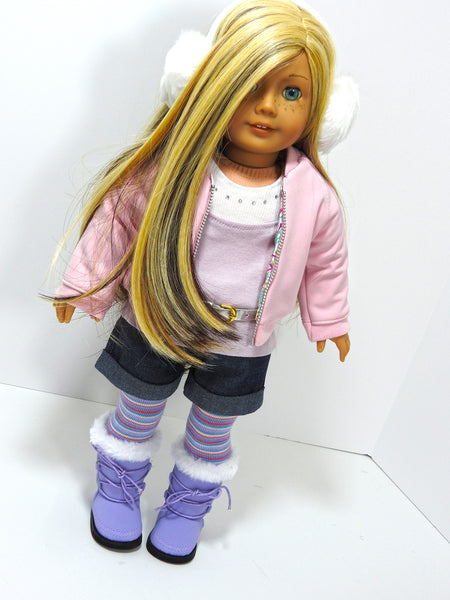 American Gril doll 8 pc. Winter outfit