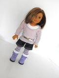 18 Inch Doll 8 Piece Winter Outfit