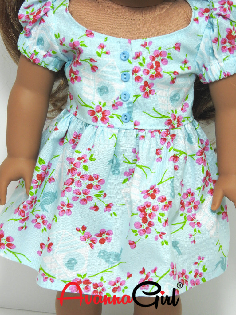 American Girl Doll® Handmade Easter Dress | Avanna Girl