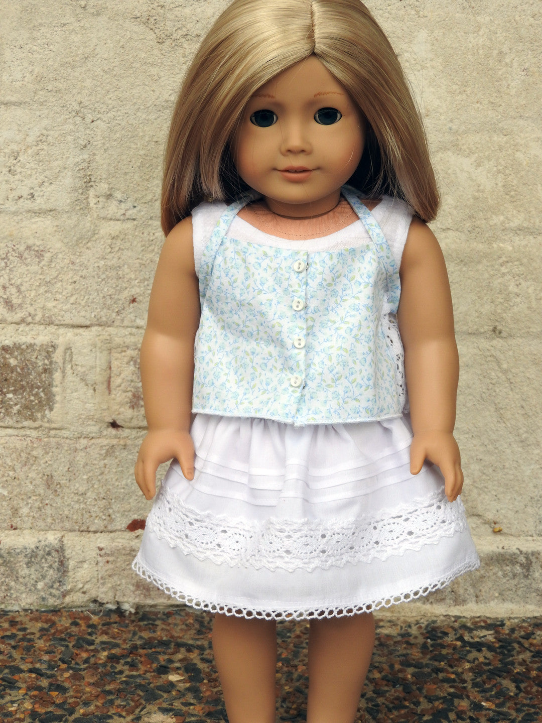 American Girl Doll Handmade Spring and Summer Skirt, Cami, and Tank Top