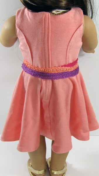 American Girl Doll Handmade Classic Knit Dress