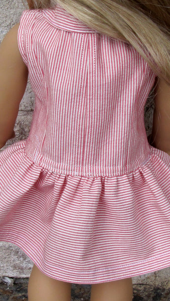 American Girl Doll Yachting Dress