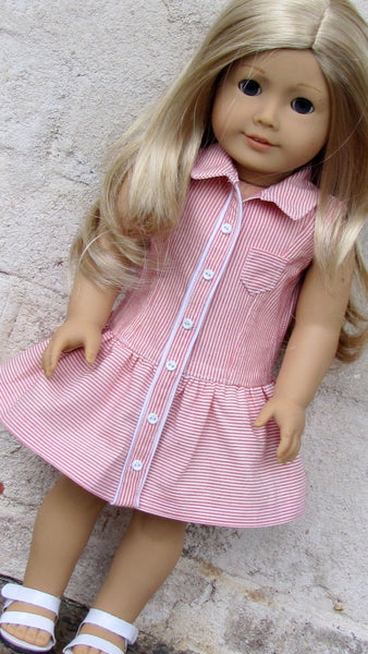 American Girl Doll Yacht Club Dress