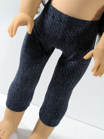 18 Inch Doll Dark Wash Jeggings