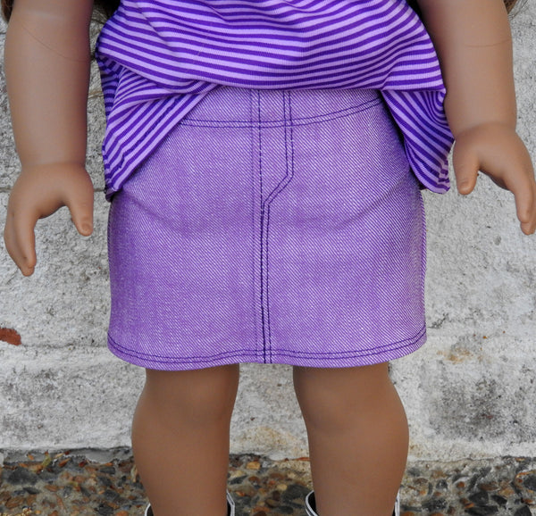 American Girl doll mini skirt