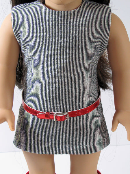 Trendy Sheath Dress for American Girl Doll