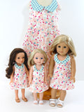 Wellie Wisher Doll Handmade retro Halter Dress