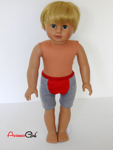 18 Inch Boy Doll - Blonde