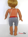 18 Inch boy doll underwear