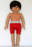 18 Inch Boy Doll - Brunette