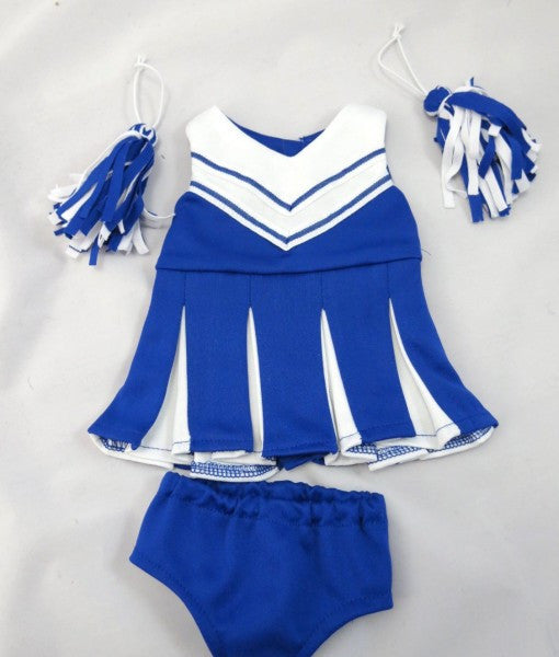 18 Inch Doll Cheerleader Outfit for American Girl Doll