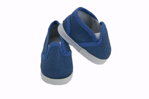 18 Inch Doll Canvas Slip On Shoes