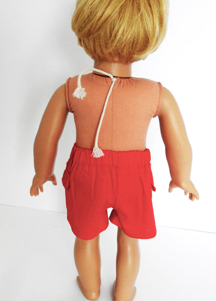 18 Inch Boy Doll Board Shorts and T-Shirt fits American Girl Boy Doll