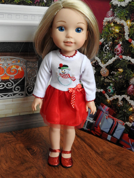 Wellie Wishers Doll Dress
