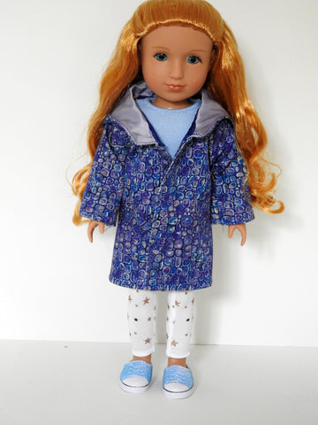 Wellie Wishers Doll Hooded Coat