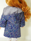 glitter girls doll coat