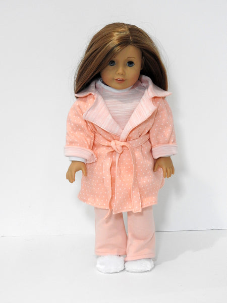 American Girl doll pj's and robe