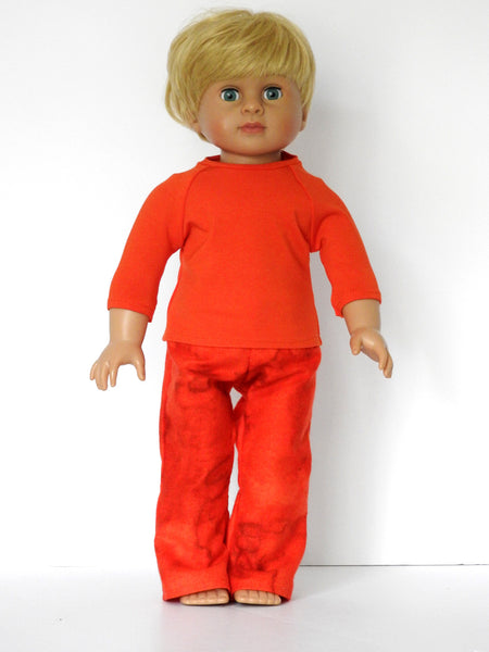 18 Inch Boy Doll PJ's and Robe