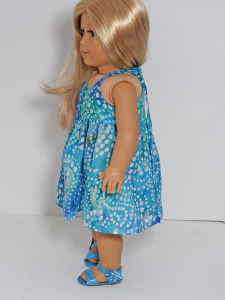 Handmade Summer Sun Dress for American Girl Doll