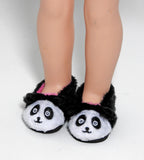 14.5 INCH DOLL Panda House Shoes