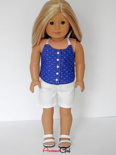 AG Doll Shorts Outfit  Handmade for American Girl Doll