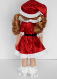 Wellie Wishers Doll Santa Dress Outfit