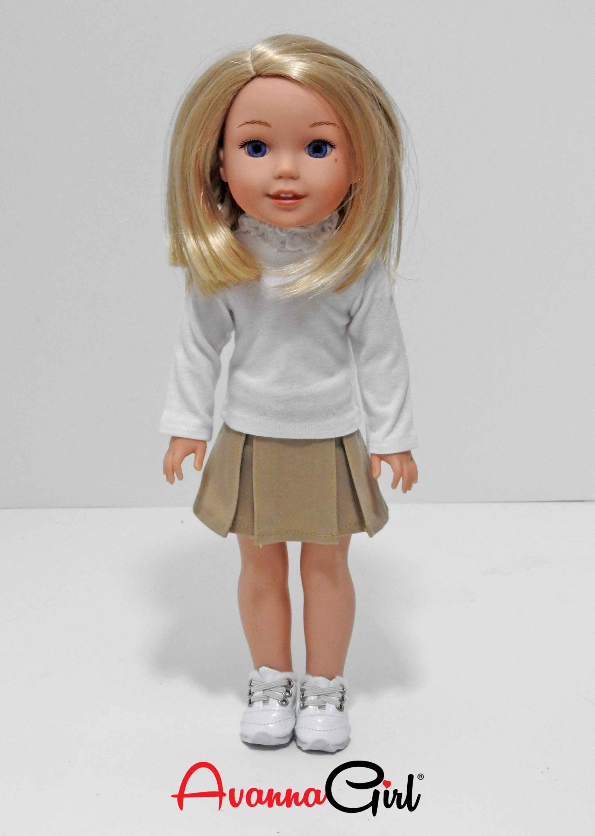 Wellie Wishers Doll School Uniform