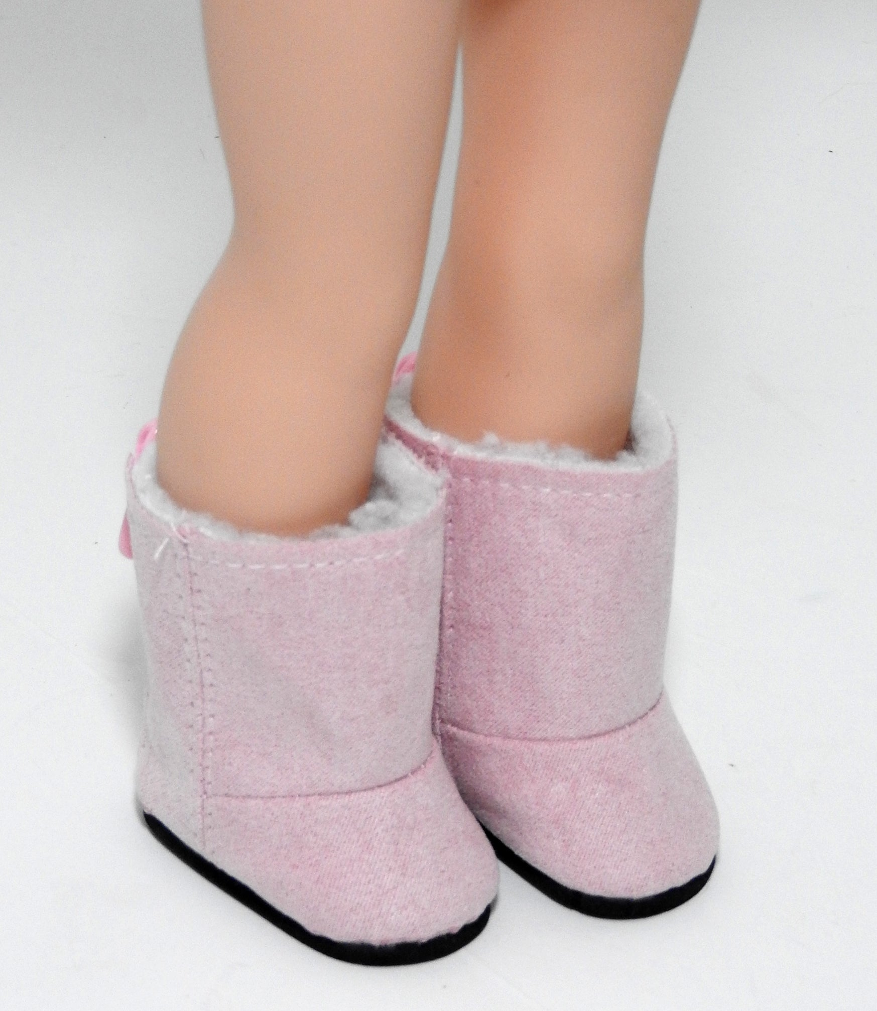 14.5 INCH DOLL Pink Boots fits Wellie Wishers Doll