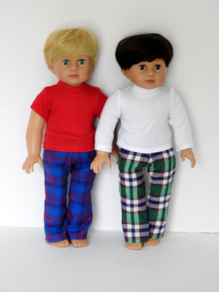 18 Inch Boy Doll Pajamas, PJ's