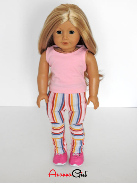 American Girl Doll Geo Leggings