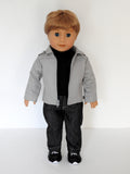 18 inch boy doll jacket