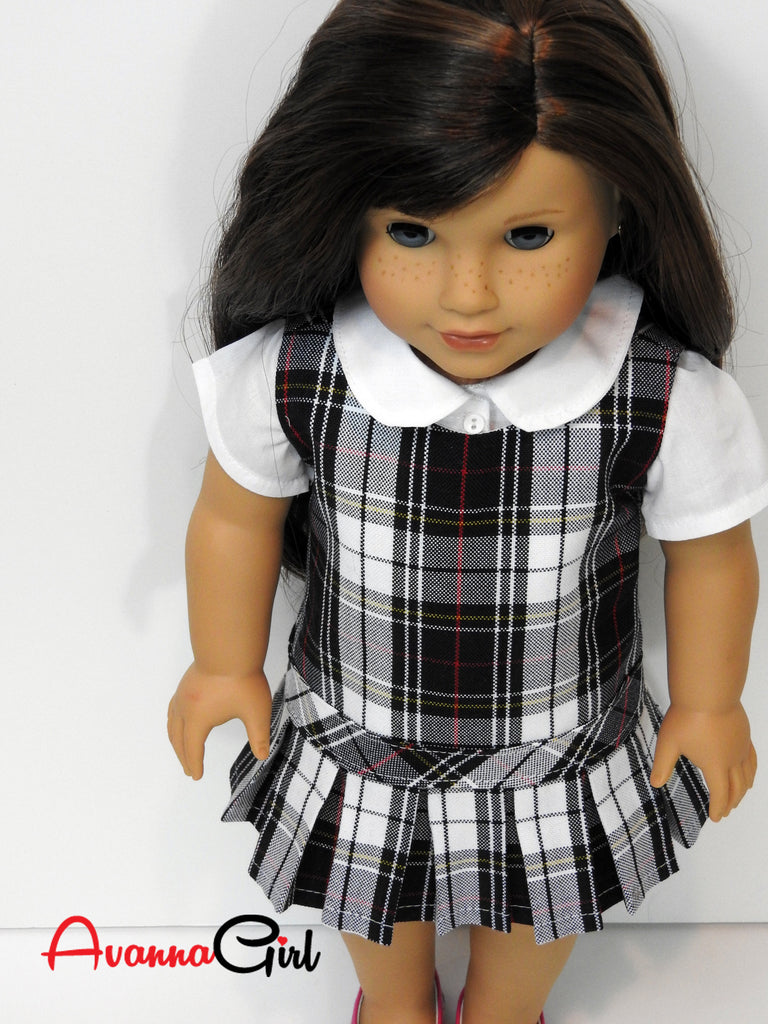 Custom Doll And Me Matching School Uniforms For Girls And -2923
